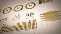 Business Statistics, Market Data And Infographics Layout
