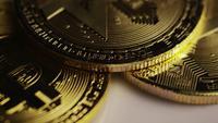 Plan tournant de Bitcoins (crypto-monnaie numérique) - BITCOIN MIXED 072