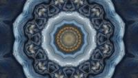 Calidoscopio de la tempestad joviana