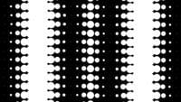Looping dinâmico preto e branco