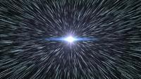 Speedy motion blur moviéndose hacia el futuro