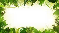 Jungle Tropical Landscape Animation Background Loop