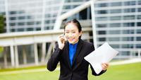 Portret van een succesvolle zakenman ondernemer werken