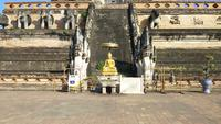 Wat Chedi Luang-tempel bij Chiang-MAI, Thailand