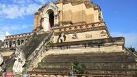 Wat Chedi Luang Temple i Chiang Mai, Thailand