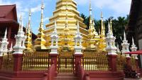 Templo de Wat Pantao em Chiang Mai, Tailândia