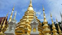 Wat Pantao-tempel bij Chiang-MAI, Thailand
