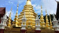 Wat Pantao tempel i Chiang Mai, Thailand