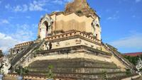 Wat Chedi Luang Temple bei Chiang Mai, Thailand