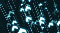Clip de fond de technologie de flèches commerciales