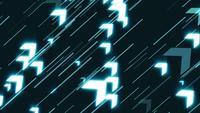 Geschäftspfeil-Technologie-Zeitlupen-Hintergrund-Klipp