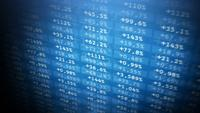 Mercado de ações e troca de fundo Loop