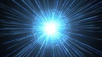 Feuerwerks-Zeitlupen-Hintergrund mit glänzendem Starburst
