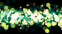 Ljusgröna och gula cirklar