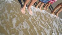 Familie zomervakantie