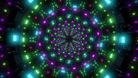 Rotating Glowing Lights