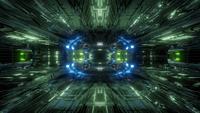 Futuristic Science-Fiction Tunnel