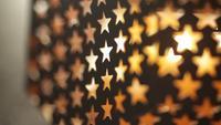 Lâmpada de luzes de estrelas