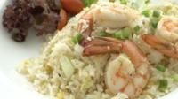 Stekt ris med räkor