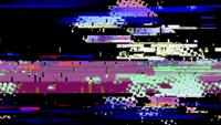 Digital Noise Video Damage