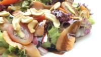 Räucherlachs mit Salat