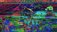Abstract TV Imagery