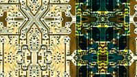 Integrated Circuit Board Graphic