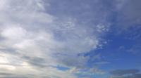 Nubes blancas en movimiento