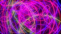 Tangling of Neon Lines