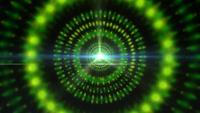 Een grafische Pulsar Star die licht en pulserende energie uitstraalt