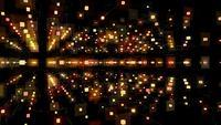 Digital-abstrakter geometrischer Hintergrund