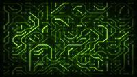 Loop de fundo de chipset de computador de tecnologia