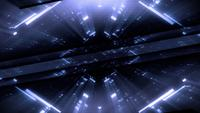 Futuristic Lights Background Texture Loop