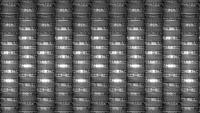 Boucle d'animation d'arrière-plan de structures futuristes