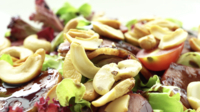 Smoked Duck Salad With Vegetables