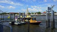 Transportation in Chao Phraya river in Bangkok, Thailand
