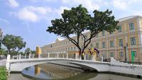 Thailand försvarsministeriets byggnad, Bangkok