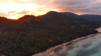 Aerial view of Samui island Thailand