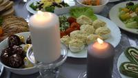 Een feest met kaarsen