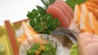 Sortierter roher Sashimi
