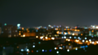 Bokeh Of City Lights