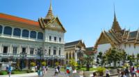 Palácios em Bangkok, Tailândia