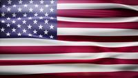 Loop de bandeira dos EUA