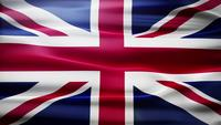 Boucle du drapeau de la Grande-Bretagne