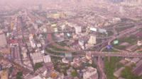 Vista aérea de Bangkok