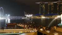 Singapore - Skyline van de stad