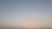 Le lever du soleil timelapse