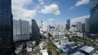 Luchtfoto van Bangkok, Thailand