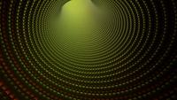 Traveling Down an Abstract Golden Hooped Tunnel