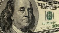President Benjamin Franklin on a One Hundred Dollar Bill